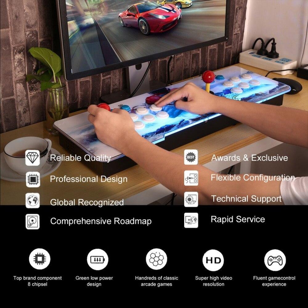 800 in 1 Video Game Arcade Console Android Machine Double Stick Pandora's Key EU Plug Korean for Home Party KTV Bar MIMU TV PC