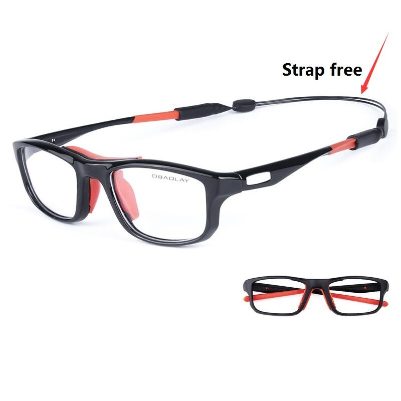 2083b14fad Cubojue Sports Glasses Men Women Basketball Football Men s Degree Frame  Eyeglasses TR90 Prescription Optical Eyewear Man