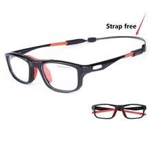 412638ff9 Cubojue نظارات رياضية الرجال النساء لكرة السلة كرة القدم الرجال درجة إطار  النظارات TR90 الطبية Optical نظارات رجل