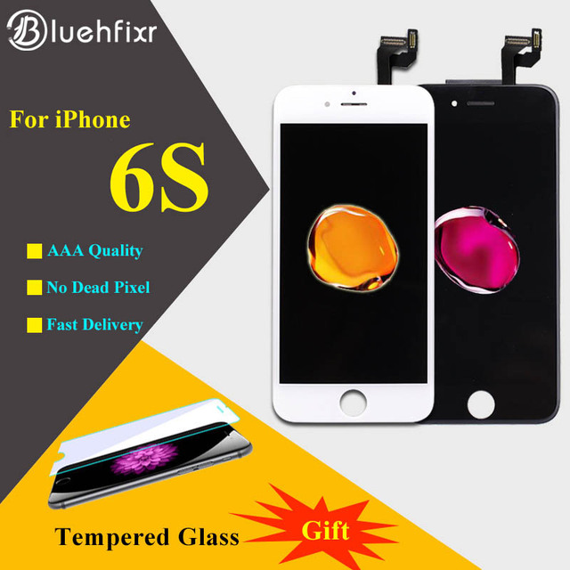 3D Touch For iPhone 6S LCD Display Touch Screen Digitizer Assembly Phone Replacement Parts LCD For iPhone 6S Screen Black White