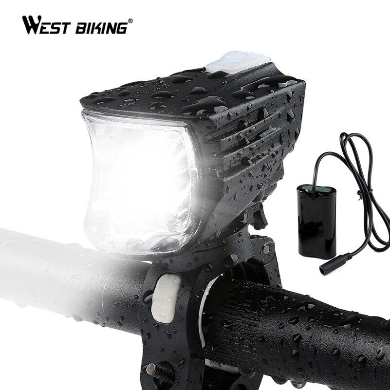 WEST BIKING Bike Light 600 Lumens Bright Headlight Lights Cycling Lamps Waterproof 3300mAh USB Rechargable Battery Bicycle Light Люмен