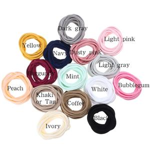 Nylon Headbands Whole-Sale Hair-Accessories Elastic-Hairband Seamless 1000pcs/Lot DIY