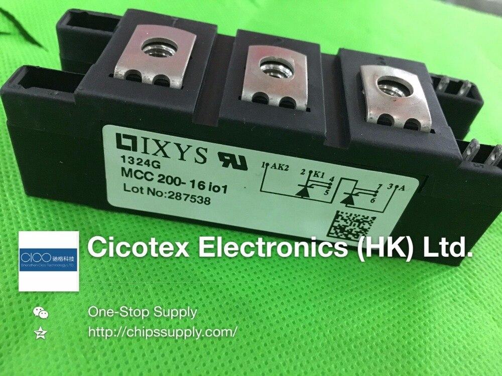 MCC200-16IO1 MODULE IGBT MOD THYRISTOR double 1600 V Y4-M6 MCC200-16I01 MCC 200-16 IO1