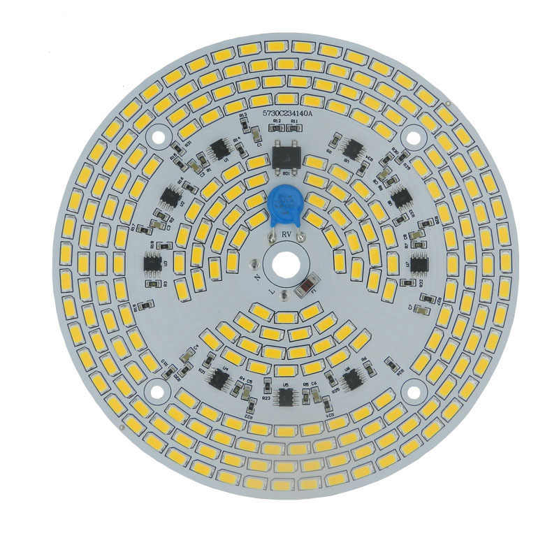 Dimmable led pcb module 24w 30w 36w 50w led bulb 100W led high bay light integrated Driver 5730 assembly led Ceiling down lig