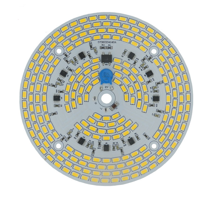 Dimmable <font><b>led</b></font> pcb <font><b>module</b></font> <font><b>24w</b></font> 30w 36w 50w <font><b>led</b></font> bulb 100W <font><b>led</b></font> high bay light integrated Driver 5730 assembly <font><b>led</b></font> Ceiling down lig image