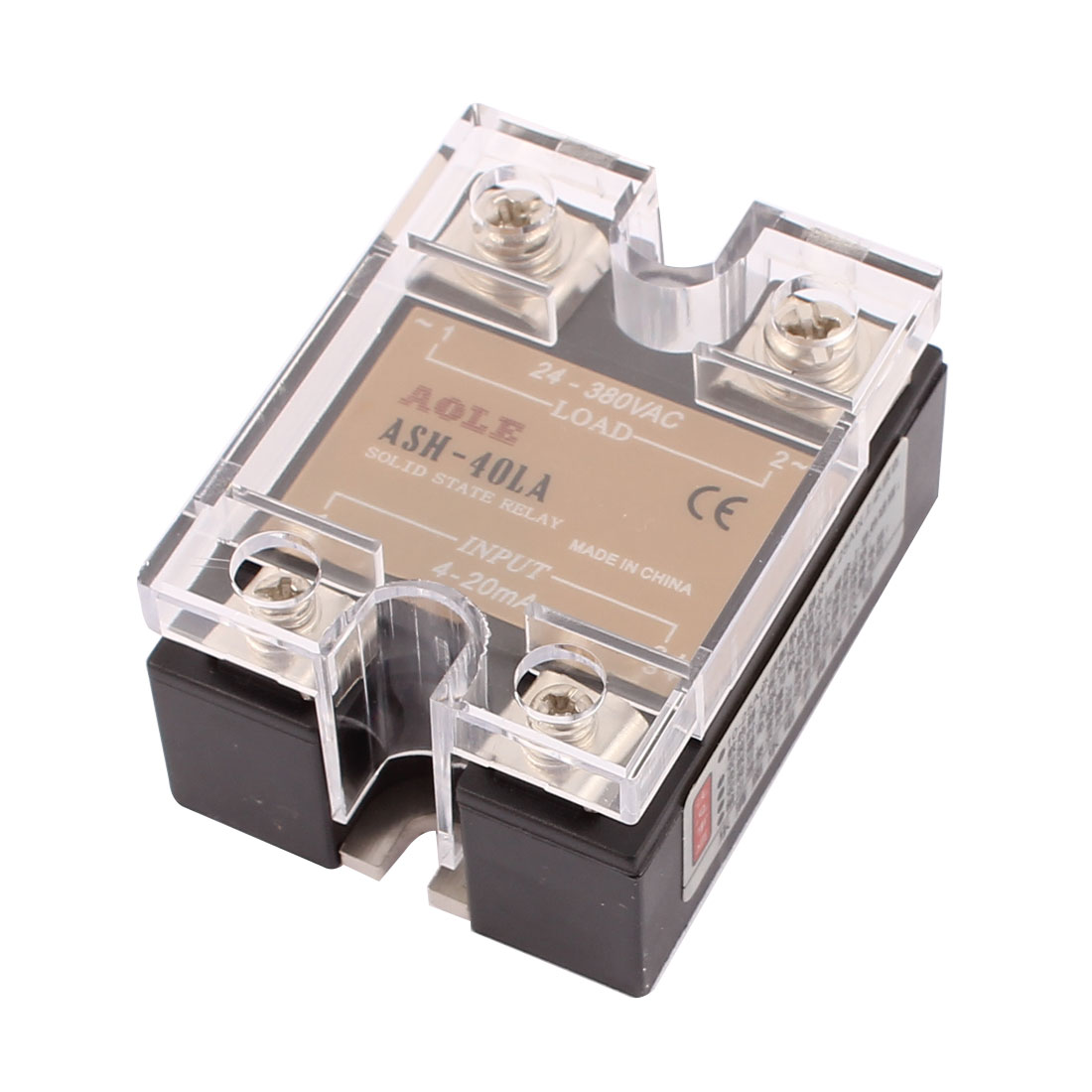 Ash-40La 4-20Ma To 380Vac 40A Single Phase Solid State Intelligent Relay