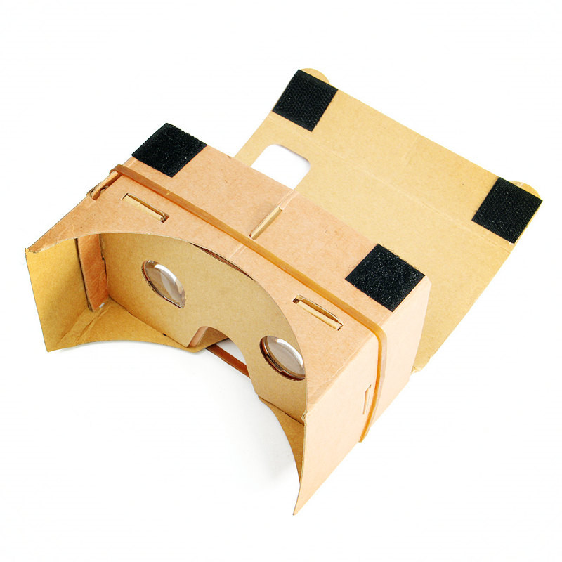 Universal 3D Viewing Digital DIY Magnet Cardboard Virtual Reality font b VR b font Glasses for
