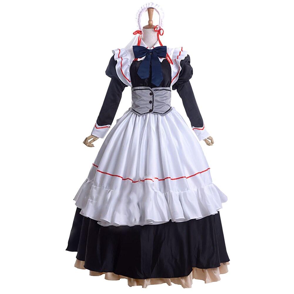 Brdwn Eden Women's Erica  Lolita Rode Evening Dress Gown Dress Maid Costume Cosplay Apron dress