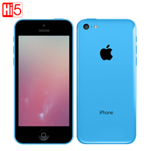Unlocked Apple iphone 5c mobile phone used unlocked 1GB RAM 8/16/32Gb ROM GSM WCDMA Dual Core 8MP Camera 4.0″ screen