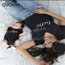 Г. Одинаковые комплекты для семьи футболка с буквами для мамы, дочки и сына, одежда для маленьких мальчиков и девочек летний Семейный комплект для детей и родителей