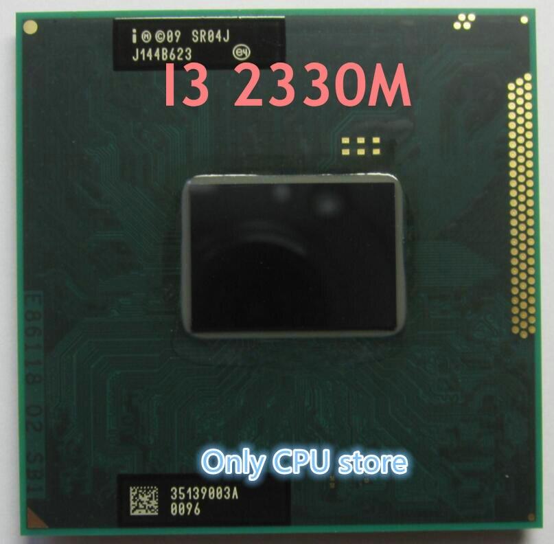 Бесплатная доставка, центральный процессор ноутбука i3-2330M ( 3M кэш, 2,2 ГГц, i3 2330M , SR04J ) PGA988 ,TDP 35 Вт, совместим с HM65 HM67 QM67