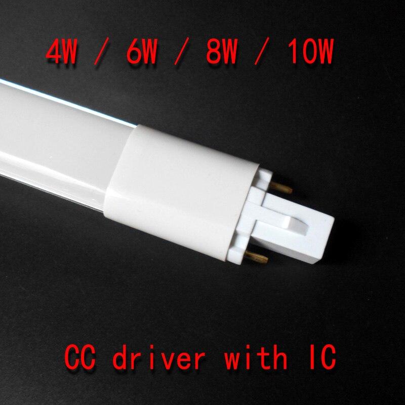 G23 conduziu o bulbo 4 w 6 8 w 10 luzes do tubo smd 2835 g23 conduziu a lâmpada AC85-265V epistar chip g23 conduziu a lâmpada pl do tubo de luz 110 v 220 v 230 v