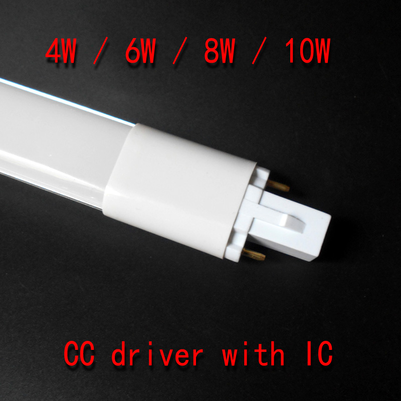 G23 lâmpada LED 4W 6W 8W 10W luzes do tubo SMD 2835 AC85-265V G23 lâmpada LED Epistar chip g23 conduziu a luz do tubo PL lâmpada 110V 220V 230V