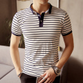 Blue Navy Pink M-5xl Short Sleeve Polo Shirt Men Business Casual Mens Polo Shirts Camisa Polo Masculino Polos Homme PA36