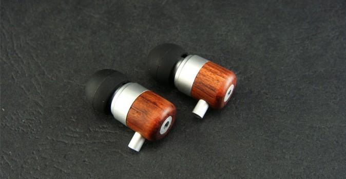 Rosewood Walnut wood 9mm 10mm earphone shell Wood ear shell with sound hole 5pairs