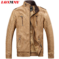LONMMY L-3XL Men jacket Suede winter menveste homme coats men thick velvet men clothes jaqueta leather jacket men 2016 New