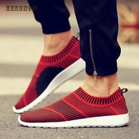 In The Autumn Of 2018 New Flying Shoes Breathable Mesh Fabric S Casual Shoes Mens Shoes