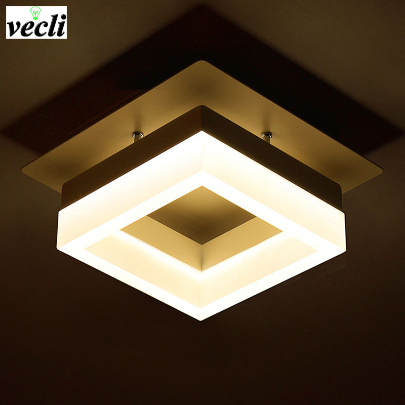 LED proste oświetlenie alejek światła korytarz domu drzwi - Oświetlenie wewnętrzne - Zdjęcie 2