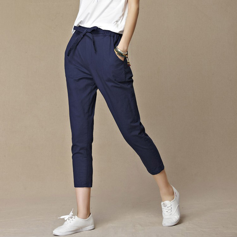 Compare Prices on Linen Cropped Pants- Online Shopping/Buy Low ...