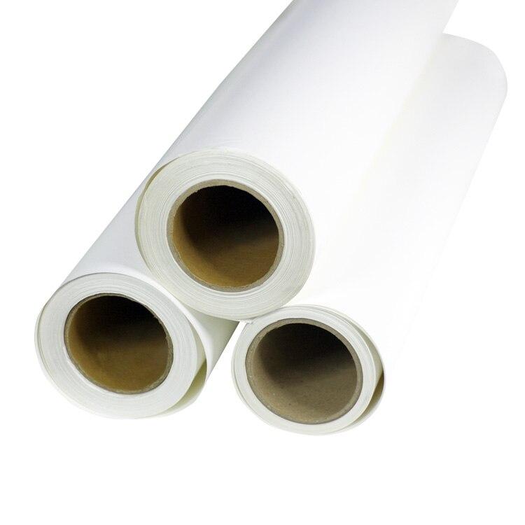Boyutu 50 cm x 25 metre Yüksek Kaliteli Yazdırılabilir Vinil Dijital Yazdırılabilir PVC Eko Solvent mürekkep için Yazıcı T-shirt Baskı basın