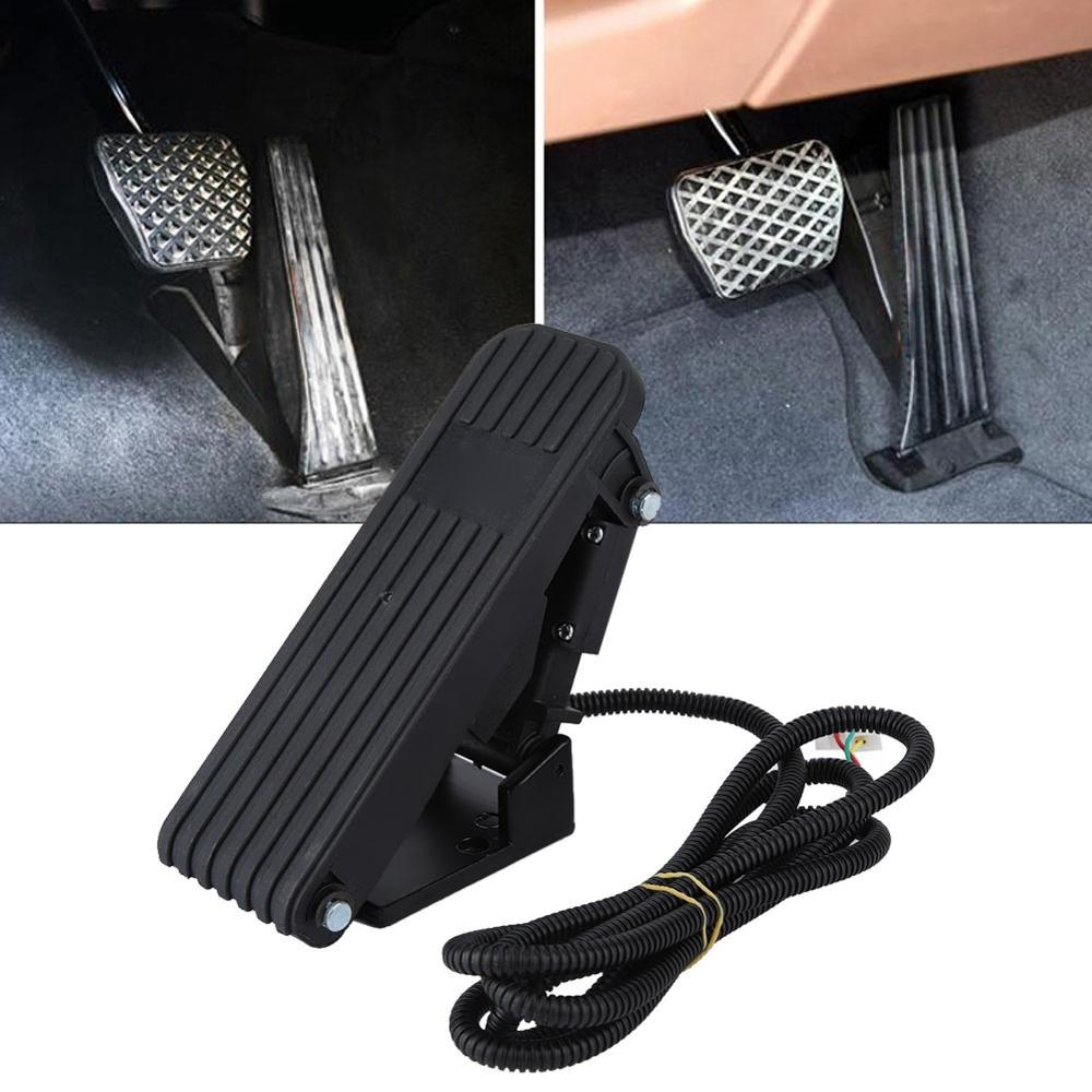 Vehicle Accelerator Throttle Speed Control Brake Foot Pedal Fit For E-bike Go Kart Dirt Bike Made Of High Quality ABS Material