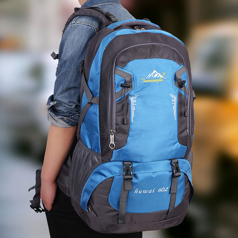 60L Waterproof Nylon Men&Women Multifunction Travel Hike Camp Climb Mochilas Masculina Brand Bagpack Laptop Back Bag 2016 Z172 large 75l feel pioneer professional waterproof cr travel backpack camp hike mochilas climb bagpack laptop bag pack for men women