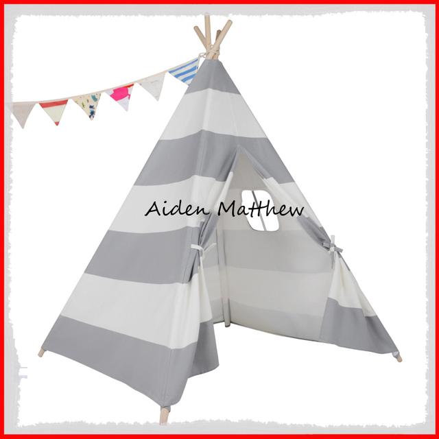 Hot Sale Eco Friendly Teepee Indian Tents Cotton Canvas  sc 1 st  AliExpress.com & Hot Sale Eco Friendly Teepee Indian Tents Cotton Canvas-in Toy ...