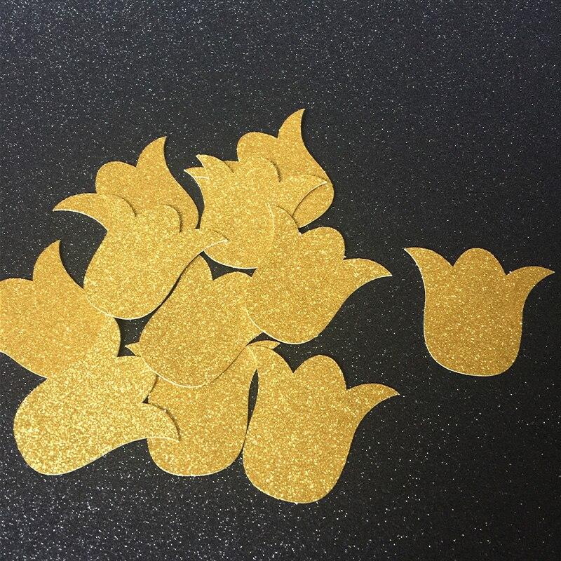Zlato / Stříbro / Černý třpyt Květinové konfety, Svatební sprcha / Svatební / Zásnubní / Děti Narozeninový večírek Dekorace