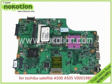 V000198040 Laptop Motherboard For toshiba satellite A500 A505 intel GM45 DDR2 Mainboard