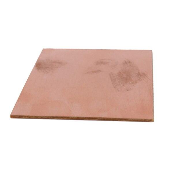 70 x 100 x 1.5mm 20pcs/lot FR4 PCB Single Side Copper Clad DIY PCB Kit Laminate Circuit Board Thickness 1.2mm Best Price
