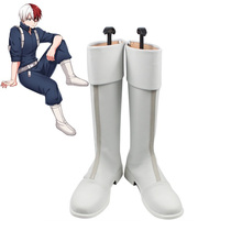 My Hero Academia Boku no Hero Academia Shoto Todoroki Cosplay Boots Shoes Cosplay Custom Made