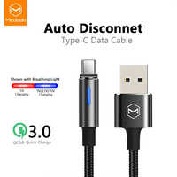 Mcdodo USB Type C Cable For Samsung Galaxy S10 S9 S8 Plus One Plus Fast Charging USB-C Charger Mobile Phone USBC Type-C Cable