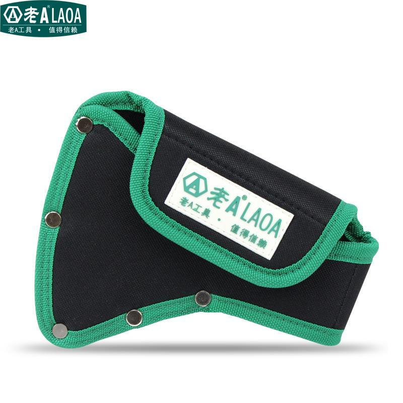LAOA kiváló minőségű axiális derékzsák méret 190mm * 150mm * 80mm Axe zsebből ácsos táska