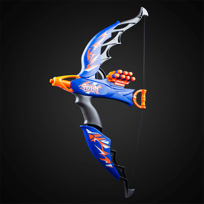 2018 Newly Slingshot Soft Bullet Bow Guns Toys Outdoor Toy Game For Children Adults Practicing Shooting Birthday Christmas Gifts