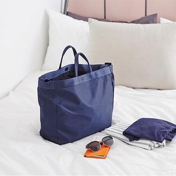 New Waterproof Large Travel Bag Portable Big Duffle Bag Women Crossbody Bags Travel Organier Shoulder Weekend Bags Travel Totes