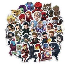 Hot 100 PCS Film Amerika Marvel Heroes Stiker Scrapbook Blu-ray HD Tahan Air Album Motor Laptop Sticker Klasik Hadiah Mainan(China)
