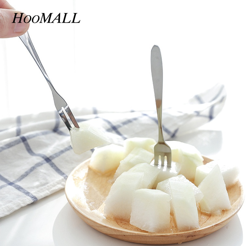 Aliexpress.com : Buy Hoomall 5Pcs Mini Stainless Steel Fruit Forks Dinning Tableware Party Cake