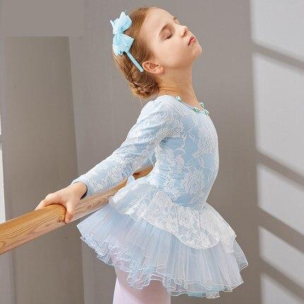 2017 Girls Ballet Dance Dress New Stage Ballet Costume Elegant White Swan Lake Ballet Dancing Wear Children Ballet Tutu Dress