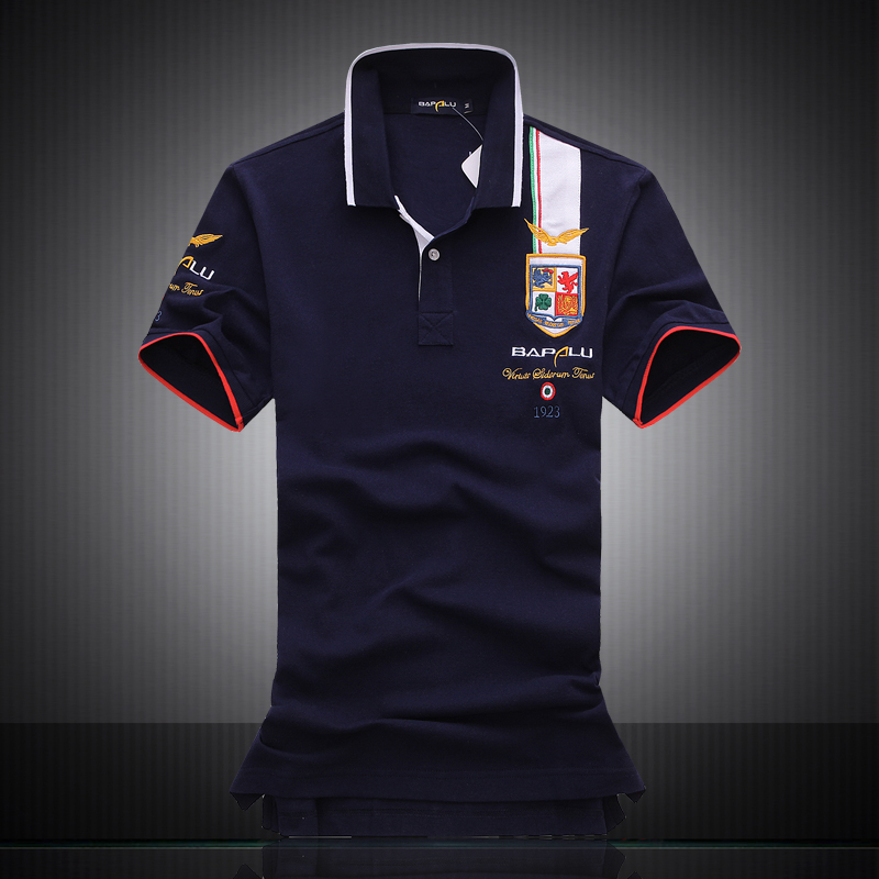 2017 Summer New Mens Brand Polo Shirt Mens Boutique Embroidery