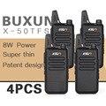 (4 pcs) ksun x-50tfsi ham two way radio walkie talkie dual-band transceiver buxun x-50 (preto)