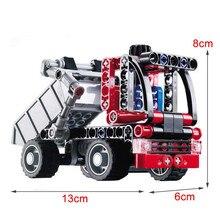 Decool 3345 119pcs Fun Dump Trucks Car City Engineering building blocks FIT for LEPIN technic for lego auto for minifigure LPS