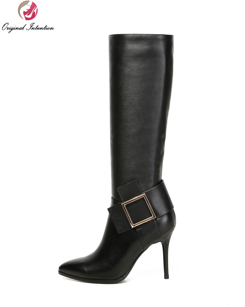 Online Get Cheap Black Stylish Boots -Aliexpress.com   Alibaba Group