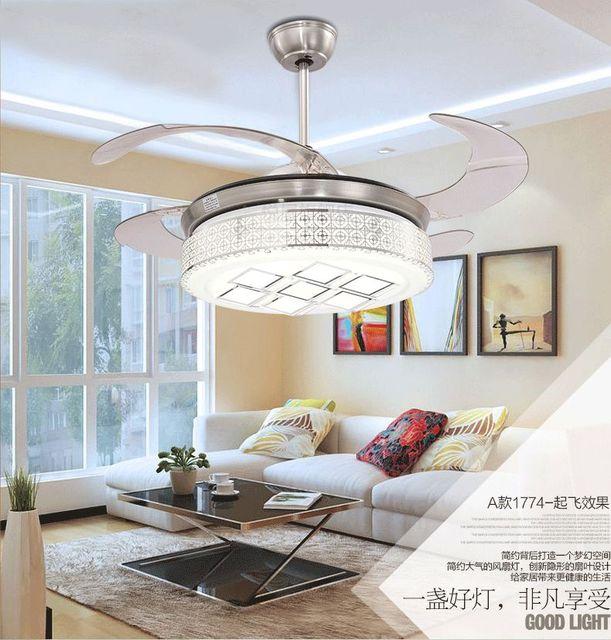 Stealth plafond ventilator licht woonkamer eetkamer slaapkamer licht ...