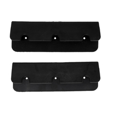 2pcs Black Inflatable Fishing Boat Rib Dinghy Kayak Seat Hook Clip Buckle Accessories