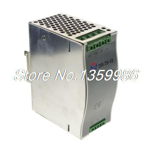 цена на 75W Din Rail Mounted 12VDC 6.3A Output Power supply x 1