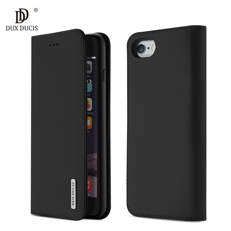 Galleria fotografica Luxury Flip PU Genuine Leather Case for iPhone 6 Plus Wallet Stand Card Slot Phone Bags Cases For iPhone 6s Plus Cover fundas