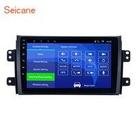 Seicane Quad core 2 Din 9 Android 6,0 автомобиль gps Радио 1 г 16 г для 2006 2012 Suzuki SX4 с Bluetooth музыки WI FI поддержка OBD2 DVR