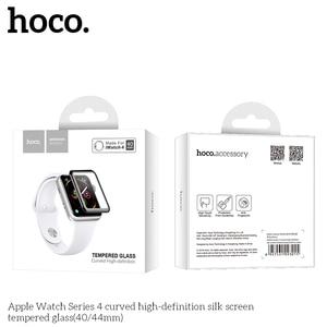 Image 5 - 3D изогнутый чехол для Apple Watch iWatch Series 5 Series 4 40 мм 44 мм