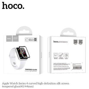 Image 5 - HOCO 9H 3D Curved Full Coverage Tempered Glass Screen Film For Apple Watch iWatch Series 5 Series 4 40mm 44mm Screen Protector