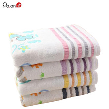 Algodón lindo towel beach towel beach towel para niños animal print suave rectángulo grande toallas de secado rápido 60×120 cm de alta calidad